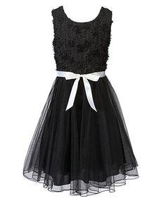 Speechless Girls Dress, Tulle Party Dress - Kids Girls Dresses - Macy's