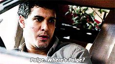 Walter would rather die than not be able to talk to Paige!! that is LOVE!!! <3 #Waige Season 1 #ScorpionFinale #TeamScorpion