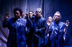Richard III, an all-female production by Omidaze theatre company, performed in the roof void of the Wales Millennium Centre. A brilliant production.