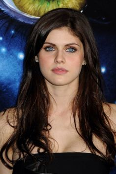 Alexandra Daddario I heard she is very talented and cooperating. She is heartly celebrity actress I like her most she is no proud beauty but natural beauty