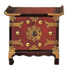 Jewel Chest  	  This quality piece of Asian furniture makes for great Oriental decor in any room.