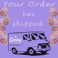 Scentsy order has shipped Fb Banner, Scentsy Independent Consultant, Wax Warmers, Home Scents, Scentsy Bar, Yankee Candles, 31 Bags, Patriotic Party, Fountain Pens