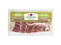100 Cleanest Packaged Food Awards 2013: Organic: Applegate Farms organic Sunday bacon http://www.prevention.com/food/healthy-eating-tips/?s=16