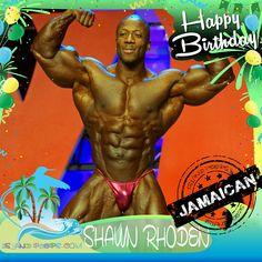 Happy Birthday Shawn Rhoden!!! Jamaican born body builder!!! Today we celebrate you!!! @flexatronrhoden #ShawnRhoden #islandpeeps #islandpeepsbirthdays #jamaica #bodybuilding
