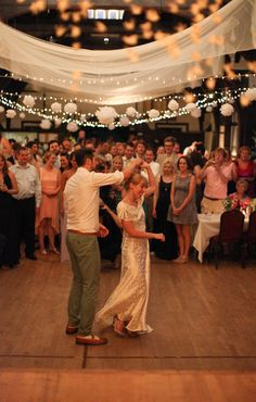 Kirsty and Tom's village hall wedding is absolutely brimming with vintage, handmade details, and there's not a scrap of bunting in sight: http://www.rockmywedding.co.uk/the-glory-days/