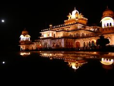 Jaipur Palace at Night