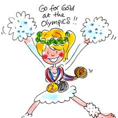 Go for gold at the Olympics - Blond Amsterdam