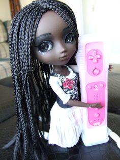 Braided Blythe Doll Nice