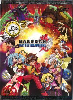 DVD ANIME BAKUGAN BATTLE BRAWLERS Season 1 Vol.1-52End Region All English Audio