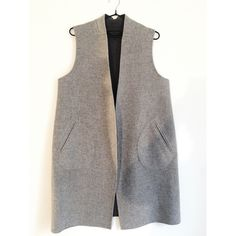 Rag & Bone Singer Wool Blend Vest Double face stretch wool blend vest- if you so desire it can be reversible if you remove label- there exists another label on inside pocket. Super cute layering piece! Worn twice. rag & bone Jackets & Coats Vests