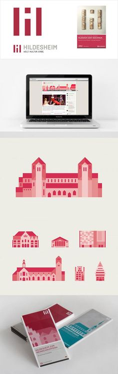 Hildesheim, Germany – logo design and corporate identity by Formvermittlung #city_brand 2012
