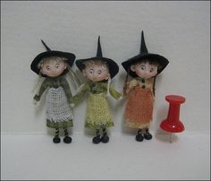 Adora Bella Minis 48th Scale Witches