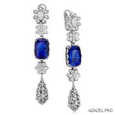 Серьги с Танзанитом Earrings with Tanzanite #earrings #moscow #алмаз #москва #танзанит #красота #бриллиант #мода #любовь #fashion #серьги #дизайн #jewelry #flowers #photography #photographer #gemstone #exclusive #handmade #эксклюзив #подарок #ювелир #almaz #фото #diamond #сувенир #галерея #tanzanite #love Diamond Gemstone, Gemstone Earrings, Drop Earrings, Kite, Jewerly, Sapphire, Engagement Rings, Gemstones, Luxury