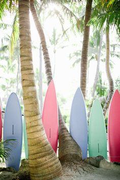 pastel surf boards