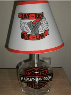 Pure white hennessy lamp purewhite hennessylamp homedecor henny hand painted harley davidson lamp harleydavidson lamp livetoride motorcycles harley mozeypictures Image collections