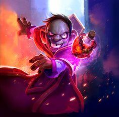 Card Name: Backstreet Leper Artist: Blizzard Entertainment