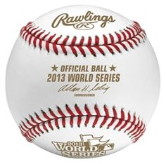 2013 Official World Series Baseball in Cube #FallClassic #BostonStrong #GoCards