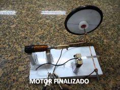 FAÇA UM MOTOR DE SOLENOIDE - FÁCIL - YouTube