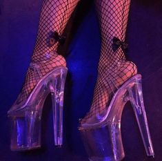 Learning to cope w one platform fetish pic at a time. Demon Aesthetic, Bad Girl Aesthetic, Purple Aesthetic, Pole Dance, Juicy Couture, Stripper Heels, Bad Girls Club, Club Kids, Neon Purple