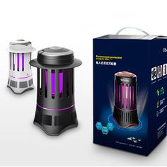 Electric UV Mosquito Pest Killer Lamp Fly Bug Insect Zapper Trap Control Light #UnbrandedGeneric