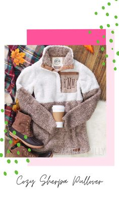 Winter is simply too cold to not have Marleylilly's Sherpa Pullover Jacket. Made of cozy-warm Sherpa fleece, this jacket is as fluffy on the outside as it is inside, against your skin. The longer length of the pullover adds both extra protection from the cold and a draping, feminine style. The collar can be snugged up around your neck as much as you want, with five closure snaps.