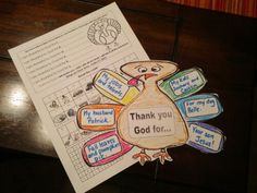 Three FREE printable activities for a Thanksgiving Themed lesson in CCD or Sunday School.