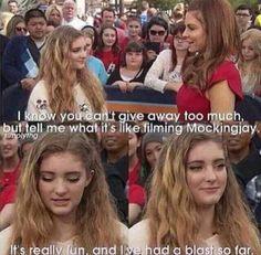 Willow Shields is Team Katniss
