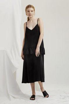 Parasol Dress - Black