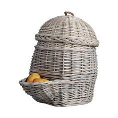 Sie können Ihre liebevoll gezüchteten und geernteten Kartoffeln nicht alle direkt verspeisen? Dann bietet Ihnen dieser charmante Kartoffelkorb mit Deckel nicht nur einen sicheren Aufbewahrungsort, sondern verschönert gleichzeitig Ihre...