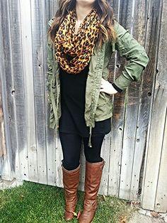 Fall outfit + cheetah