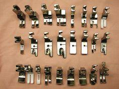 Different Juki Sewing Machine Foots