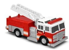 Tonka Light & Sound Effects Mighty Fleet Fire Truck Toy by xs-toys -- Awesome products selected by Anna Churchill