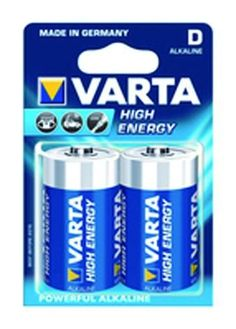 VARTA BATTERIA HIGH ENERGY TORCIA 2PZ LR20 http://www.decariashop.it/batterie/17779-varta-batteria-high-energy-torcia-2pz-lr20.html