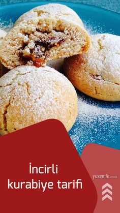 İncirli kurabiye tarifi - Atıştırmalıklar - Las recetas más prácticas y fáciles Fig Newton Recipe, Turkish Recipes, Ethnic Recipes, Fig Newtons, Turkish Delight, Homemade Beauty Products, Cornbread, Great Recipes, Muffin