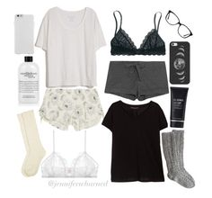 """""""Bestie Sleepover Outfits"""" by jenniferwharned on Polyvore"""