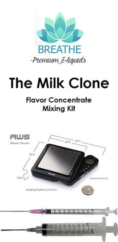 Candy Ingredients 159891: Teleos The Milk Clone Flavor Juice Mixing Kit 60, 120, 240Ml (Vg Pg Included) -> BUY IT NOW ONLY: $39.49 on eBay!