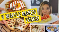 I am OBSESSED with cooking things other than waffles in my WAFFLE MAKER! Like did you know you can make omelets, paninis, quesadillas, cookies, and hashbrowns in there? No you didn't!? Well let me show you my friend! For the full #CheapCleanEats recipes go to my blog, blogilates.com