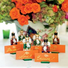 Get Festive With Place Card Holders - 101 fresh christmas decorating ideas - Southern Living