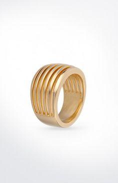 JOOP! Ring Stripes in Gold