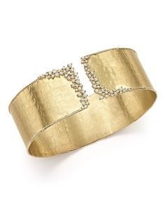 5,400.00$  Watch here - http://viehh.justgood.pw/vig/item.php?t=q63kvq1472 - Bloomingdale's Diamond Cuff Bracelet in 14K Yellow Gold, .75 ct. t.w. - 100% Exclusive