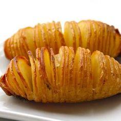 Ziemniaki hassleback są tak smaczne, że mogą stanowić odrębny posiłek