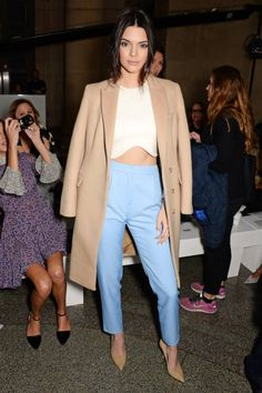 Kendall Jenner at Topshop Unique AW15