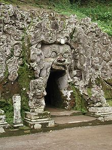 Goa Gajah The Elephant Cave Ubud, Indonesia