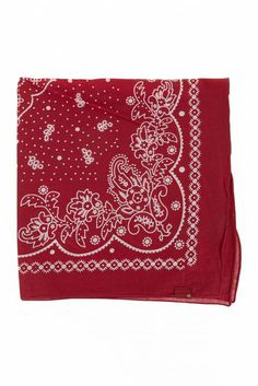 bandana authentic levi s rouge - accessoires echarpe homme  bandana   unclejeans 72d8522c37d