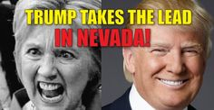 BREAKING : New Nevada Poll – Trump Takes THE LEAD! (9/20/16)