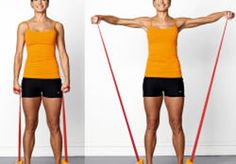 Vælg en flad træningselastik på mindst 2,5 meter. Den kan du vikle om hænder og fødder og dermed nemt regulere til rette modstand øvelse for øvelse.