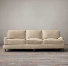 English Roll Arm Upholstered Sleeper Sofa- A smaller option is a better fit in the room