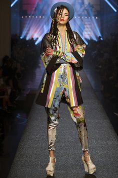 Karlie Kloss au défilé Jean Paul Gaultier printemps-été 2013