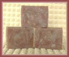 Rebatched soap using the crock pot or 'boil in bag' method.