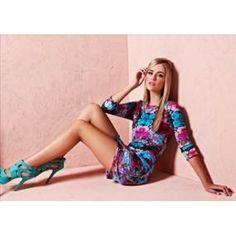 Cooper St Futuristic Jersey Dress